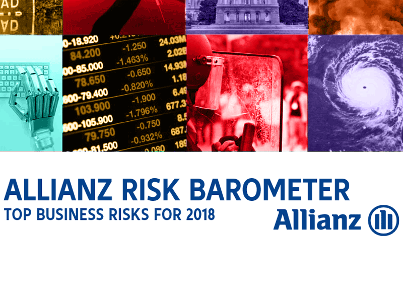 Allianz Risk Barometer 2018